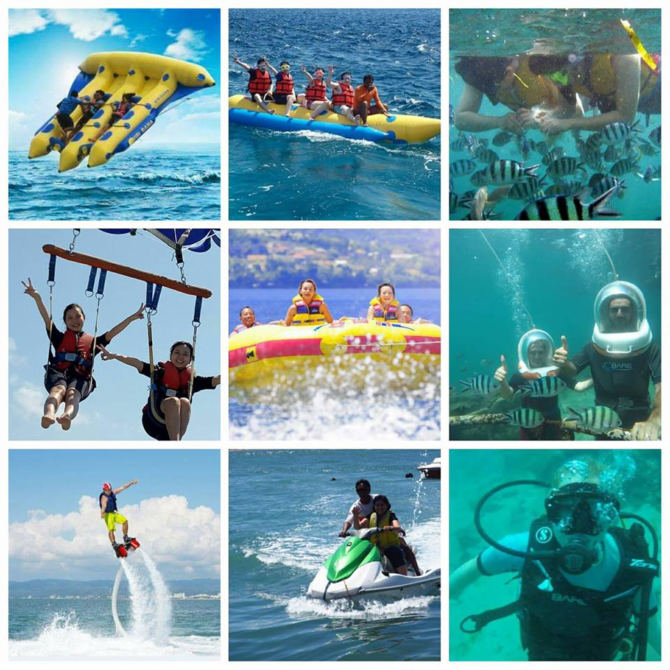 Best Top 10 Activities In Bali My Tiket Voucher Donat Boat Watersport Tanjung Benoa